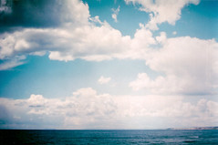 I'm moving on (Rob Aparicio) Tags: blue sea sky espaa film azul clouds analog mar spring andaluca analgica spain horizon olympus andalucia cielo nubes horizonte marbella analogic analgico olympusom20 tumblr robaparicio spring2013 flickrtotumblr