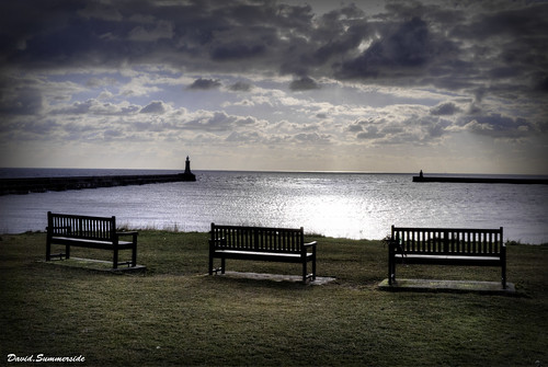 Tynemouth,Looking towards the North Sea