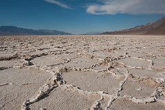 Salt Flats at Death Valley National Park (kooicia) Tags: california park ca nature crust death nps hexagonal salt parks basin flats national valley deathvalley nationalparks landsacape dea badwater inyo
