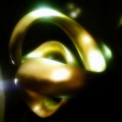 loo2p (ʘ@ʘ) Tags: light black circle gold time o nowhere perspective x system silence duality escher monolith reflexions shadowslight 2013 clickheretoaddadescription obliquemind obliquamente acidgold