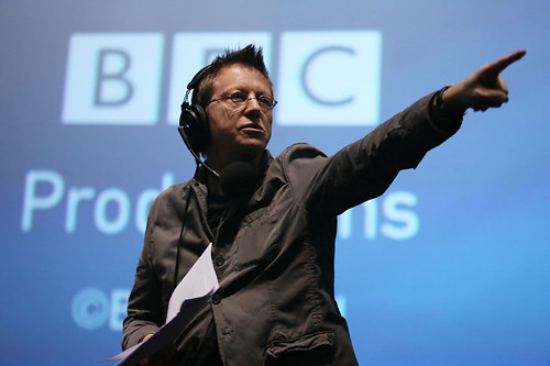 DJ Simon Mayo during the Radio 5 Live event at the Cineworld