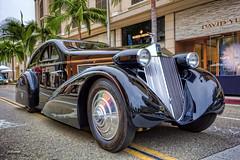 1925 Rolls-Royce Phantom I Aerodynamic Coupe (dmentd) Tags: rollsroyce coupe 1925 aerodynamic jonkheere phantomi propercars rodeodriveconcours