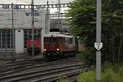 BLS Ltschbergbahn Lokomotive Ae 6/8 205 unterwegs bei Holligen bei Bern im Kanton Bern in der Schweiz (chrchr_75) Tags: juni train de tren schweiz switzerland suisse suiza swiss eisenbahn railway zug sua locomotive christoph svizzera bls bahn treno chemin centralstation sv
