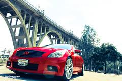 INFINIT G37S Sedan On VMB5 Matte Silver (VelgenWheels) Tags: pictures auto california uk bridge red usa canada car cali