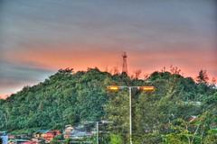Mercusuar Gunung Komendur (Chaz Tumbelaka Photography) Tags: sunset hill borneo hdr balikpapan mercusuar tukong tukung komendur