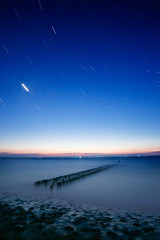 Domburg Seaside 1 | Netherlands (www.jacktheflipper.de) Tags: ocean longexposure sky sunlight beach water netherlands stars photography coast long exposure sundown horizon shore domburg starsinthesky