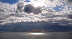 Summer sky (mikael_on_flickr) Tags: sea summer sky clouds denmark daylight meer nuvole mare estate cloudy sommer himmel northsea cielo danmark nordsee skyer hav danimarca rubjerg rubjergknude vesterhavet nordjylland sommersky