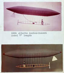 1901 Alberto Santos-Dumont Model (San Diego Air & Space Museum Archives) Tags: andrew collection lech