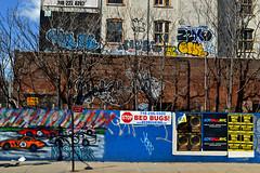 Hefner x Korn x Bare x CHE x SY x Neta x Zexo x PK x KID (Now It's Real!) Tags: new york city nyc ny smart graffiti tv kid acc bare graf tags che graff pk bqe korn bk neta brookyn wto hefner sy floaters wiliamsburg syone fillin bkay zexo smartcrew netaacc zexor loftygoals korn1 d3100 nikond3100