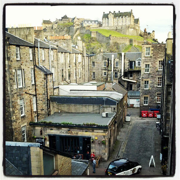 The view from our flat... Edinburgh... by dawniecakes, on Flickr