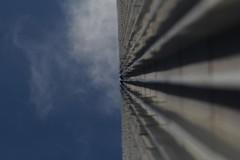 Kannst Du die Sterne sehen (raumoberbayern) Tags: sky abstract lines architecture clouds facade skyscraper silver grey dof geometry frankfurt himmel wolken grau minimal architektur fassade hochhaus silber geometrie linien urbanfragments helaba