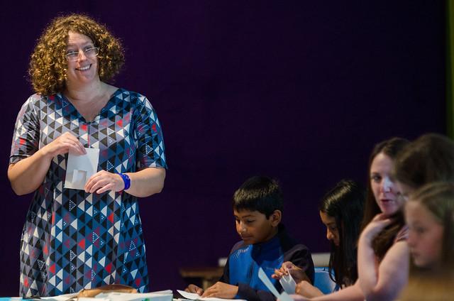 Rachel Hazel paper workshop