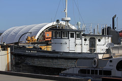 Sea Wave tug (Walt Barnes) Tags: wood canon eos boat ship vessel richmond calif historic tugboat tug sanpablobay workboat seawave 60d canoneos60d eos60d wdbones99