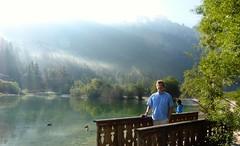 Jasna Lake Bridge (Kranjska Gora) (Michael R Perry) Tags: slovenia slovenija triglav triglavnationalpark triglavskinarodnipark triglavski