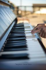 Found Sound aka Ventnor Boogie (frattonparker) Tags: keys seaside hands raw child fingers piano isleofwight seafront nipper cs6 nikond90 nikkor35mmf18 btonner frattonparker
