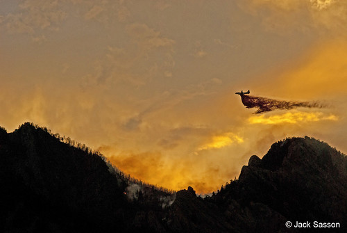 Photo - Another Bomber Run - Flagstaff Fire, June 2012
