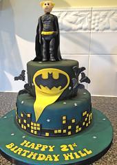 Custom Batman Cake