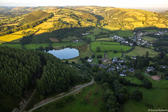 Floating over Wales (Eiona R.) Tags: carmarthenshire talley wfc hotairballooning floatingsensations floatingoverwales