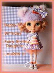 HAPPY BIRTHDAY LAUREN !!!!!!!