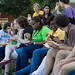 Multicultural and international student picnic
