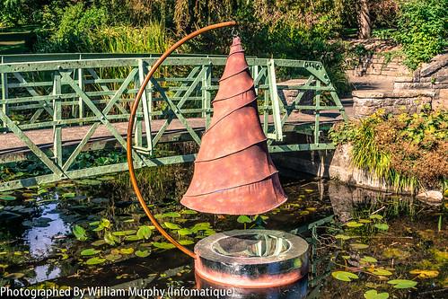 Spiral Pond By Anne McGill