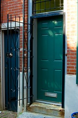 Half Open (Xrayeye) Tags: street door philadelphia home nikon gate iron row d5200 frowalk