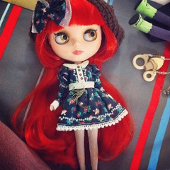 Rubi's new dress!