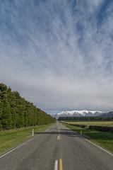 NZ road to mountains (mcflydk) Tags: newzealand westcoast d600 zeiss15mm totaraflat