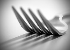 Fork... (Lady Haddon) Tags: bw macro fork 100mm f63 2013 forkprongs oct2013