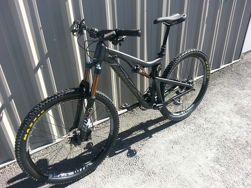 2014 Santa Cruz Solo 5010 carbon Black Rock Bicycles Reno Tahoe