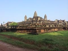 Angkor Wat Corner View