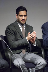 Sacha Dhawan | An Adventure in Space and Time | BFI preview - 1 (Paul Dykes) Tags: uk england london doctorwho writer drama screening preview bbc2 anadventure bfi britishfilminstitute williamhartnell executiveproducer 1stdoctor firstdoctor markgatiss warishussein sachadhawan doctorwhoat50 anadventureinspaceandtime