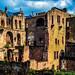 Auch das ist Schloss Heidelberg, Ruine des Biliotheksbaus von 1520 -- This too is Heidelberg Castle, ruin of library from 1520