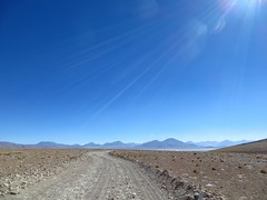 Nearing the Salar de Chalviri and Polques