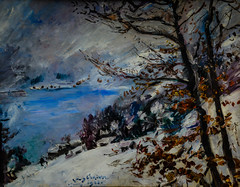 Lovis Corinth - Walchensee in Winter, 1923 at Stdel Art Museum Frankfurt Germany (mbell1975) Tags: winter art museum ge