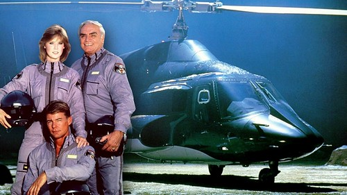 Airwolf Fox Retro