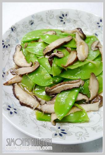 鮮香菇炒豌豆莢06.jpg