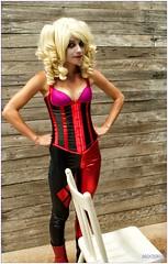 Sally Jeannie (Mochrum Photography) Tags: cosplay harleyquinn sigma2470mmf28exdgmacro borderfx exposurestudios sallyjeanniecosplay sallyjeannieshoot httpswwwfacebookcomsallyjeannie