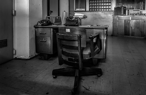 Alcatraz - Comms Room Chair