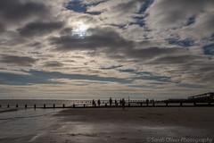 The Beach (sarahOphoto) Tags: wood uk sea beach sand painted united steps kingdom huts essex frinton groins frintononsea