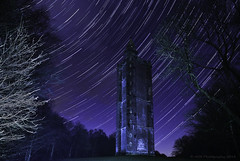 Alfreds star trails (AGB Photography) Tags: night stars star nikon stack lp startrail kingalfredstower d7000