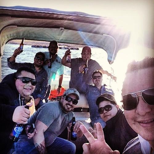 #Presa #Compadres #Beer #Carneasada #Boat