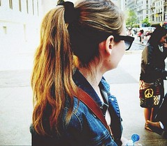 New York New York (carleigh~) Tags: life travel flowers friends summer usa newyork cute nature girl beautiful smile vintage hair happy glasses pretty tour dress natural pics country hipster longhair curls teenager ponytail bestfriends scrunchie tumblr tumblrgirl uploaded:by=flickrmobile flickriosapp:filter=nofilter jeankjacket