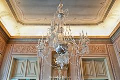 (world's views) Tags: portugal glass details lookingup chandelier lamps queluz 2014 cealing cristals palacionacionaldequeluz