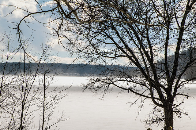 Lake Monroe - Car Top boat launch - January 25, 2014