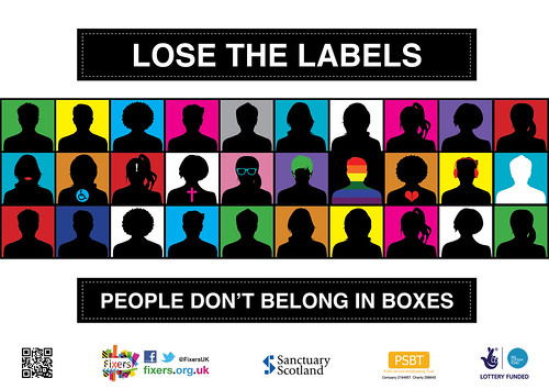Lose the Labels - poster campaign