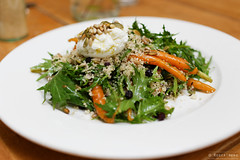 20140204-04-Carrot and got curd salad at Tricycle Cafe in Hobart.jpg (Roger T Wong) Tags: food lunch salad cafe tricycle australia carrot tasmania hobart couscous austraila batterypoint sigma50mmf28exdgmacro sigma50macro canoneos6d goatcurd