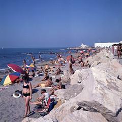Saintes-Maries-de-la-Mer - 1969 (Selbymay) Tags: 1969 6x6 saintesmariesdelamer bouchesdurhne marcelbesnard