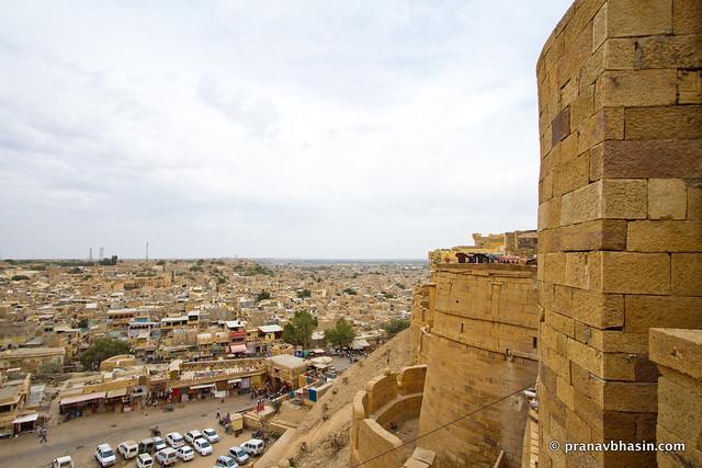 Sonar Kila Vs Jaisalmer City, Rajasthan