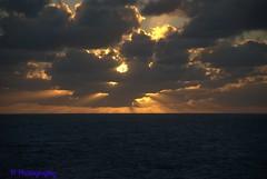 Caribbean Sunset (Nannerlady) Tags: sunset st castaway hiking cove snorkeling shipwreck caribbean cay maarten parasailing